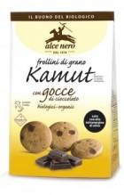 biscotti kamut con gocce di cioccolato